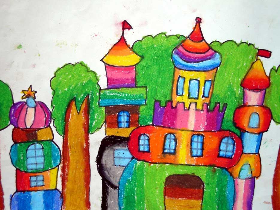 儿童画具体包含什么科目图片