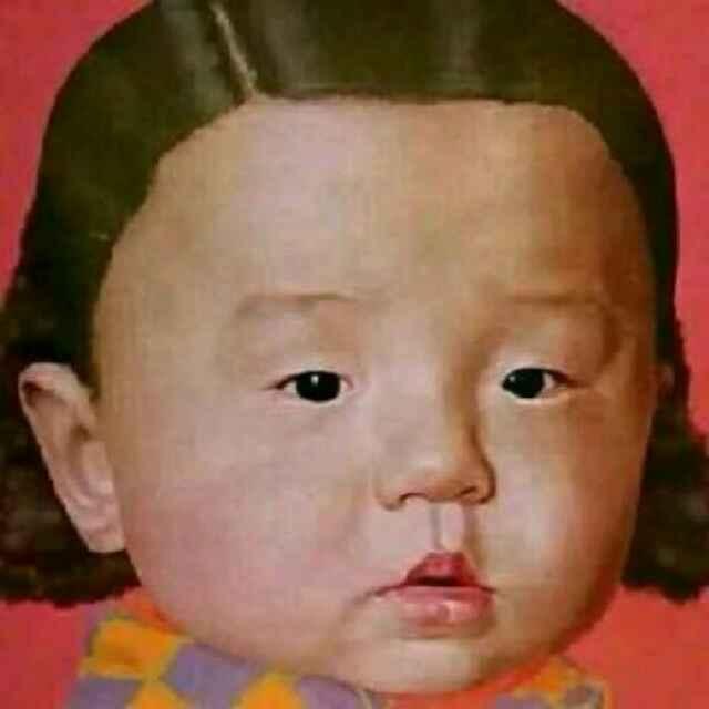 一个女的把这个图片设置成微信头像,她什么意思.