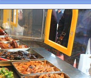 各位亲,哪里可以订做这种熟食售货窗口图片