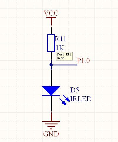 请问单片机组成红外发射电路 直接用红外发射二极管接