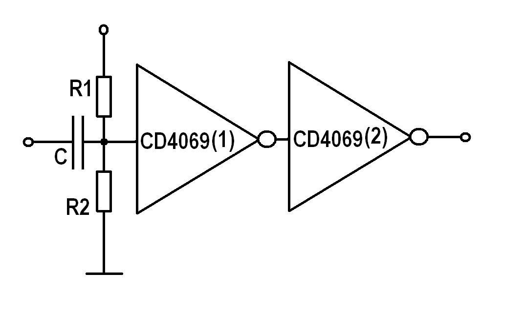其实正弦波或三角波,锯齿波转矩形波的整形电路,最简单的办法是用