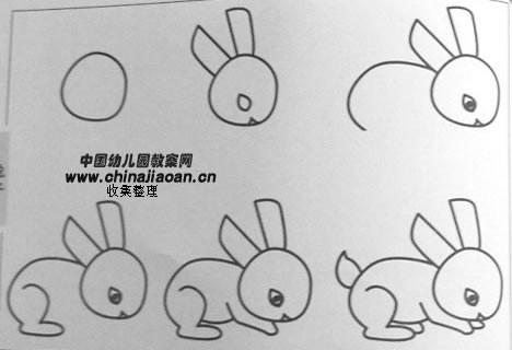 小兔子的简笔画怎么写