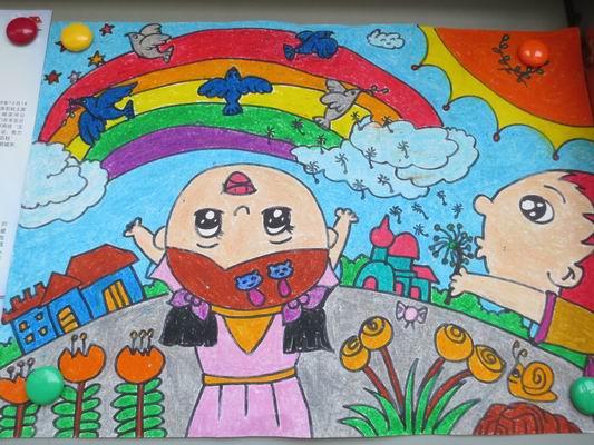 我的梦中国梦绘画