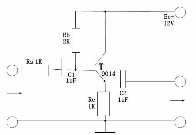 怎么判断共集电极放大电路?