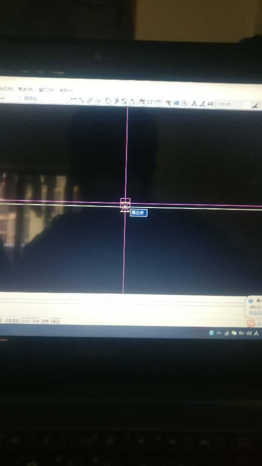 CAD捕捉时把这个暖通十字隐藏?t20v2基于天正光标cad图片