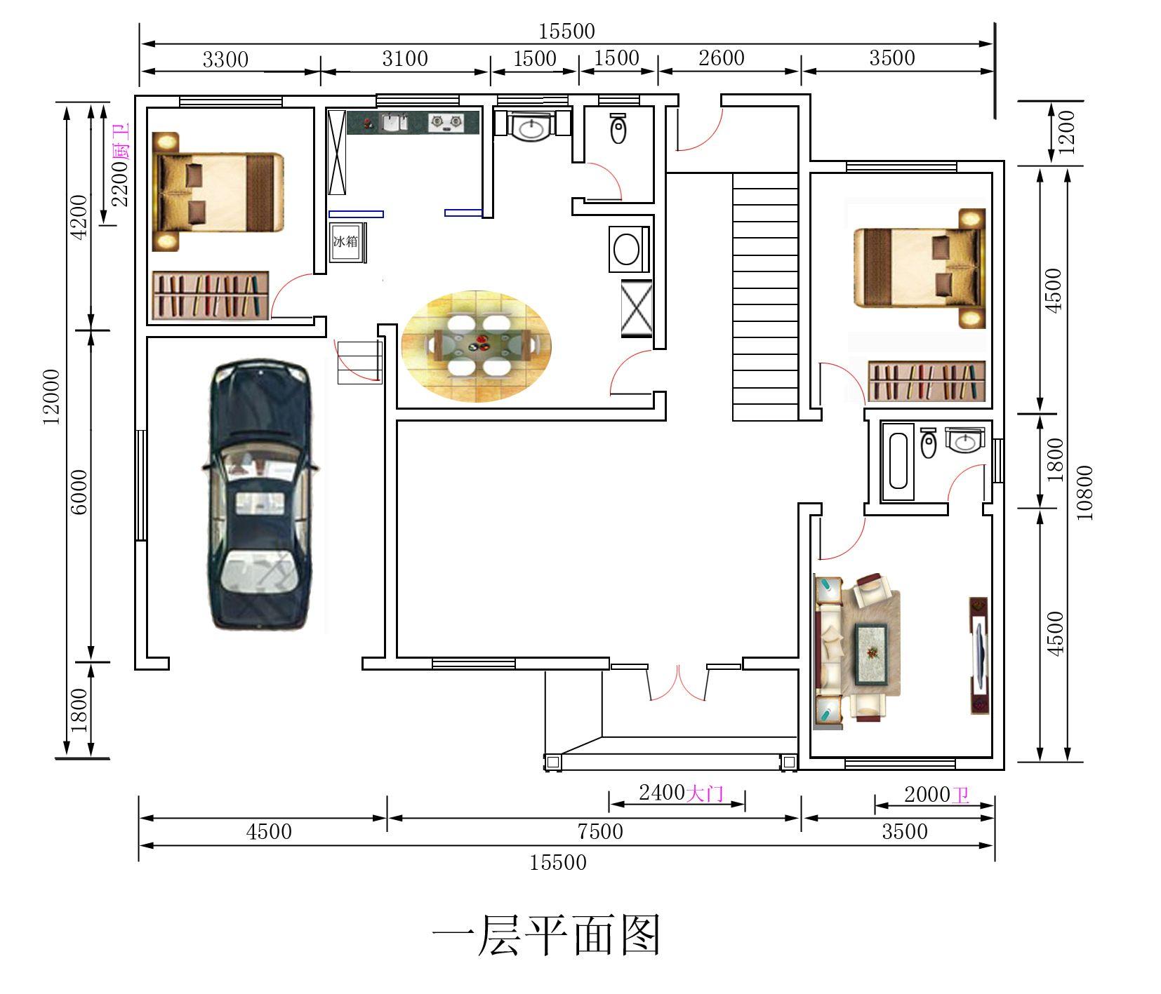 2016农村新房设计图