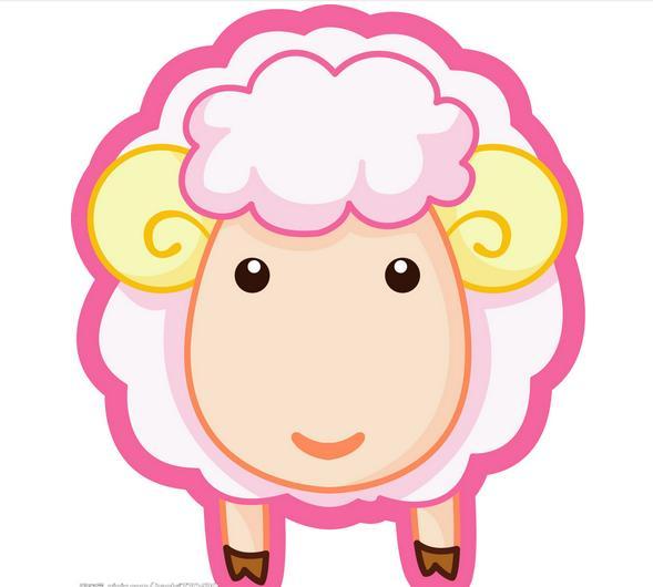 绵羊怎么画图片图片