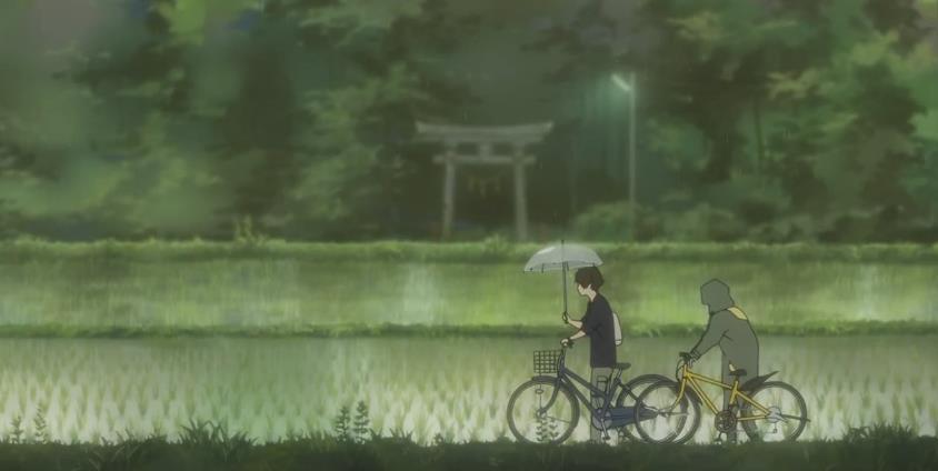 求一张图片,下雨天男的为女的撑伞,要动漫的谢谢图片