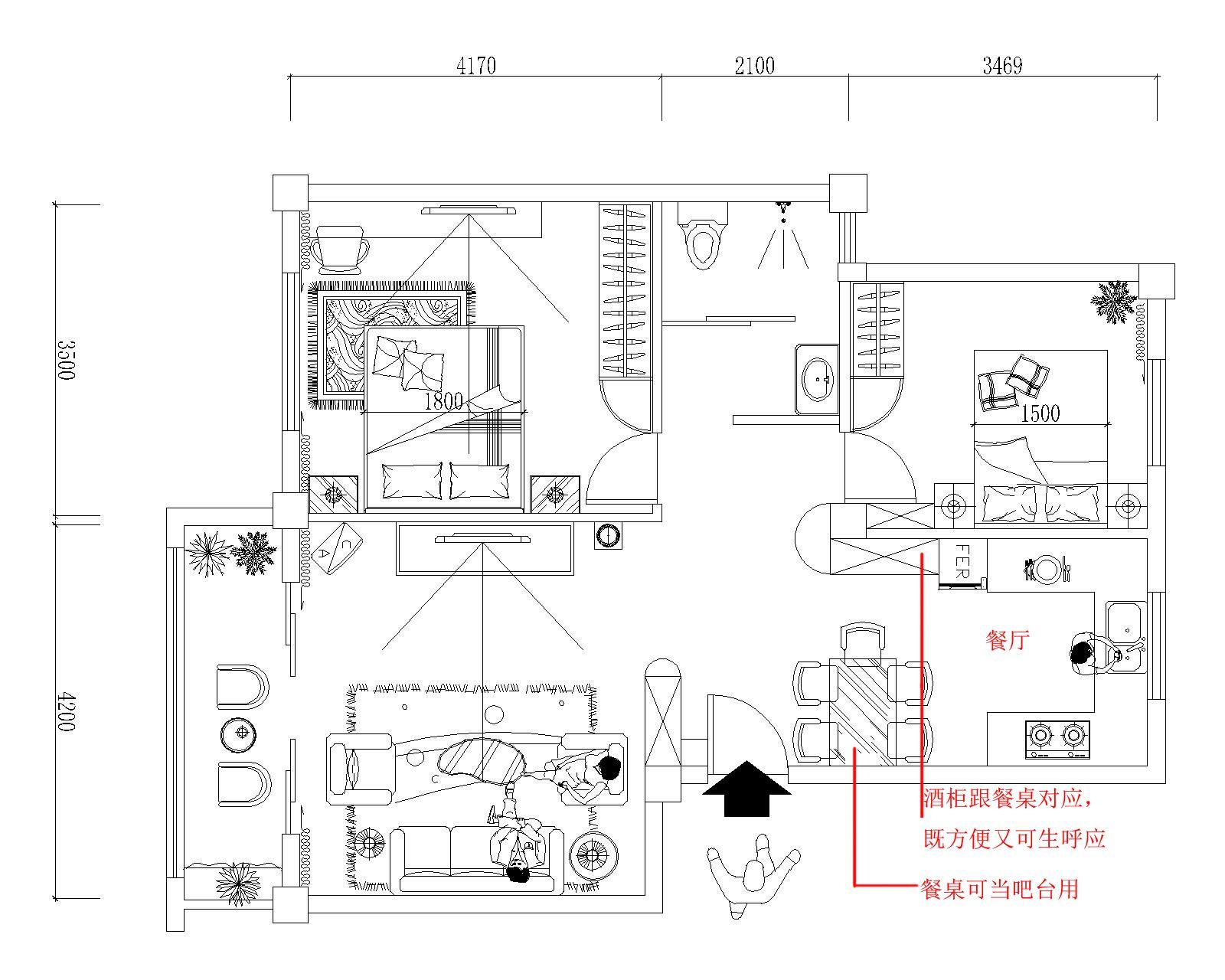 一层楼房设计图