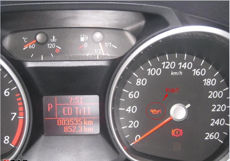 福特车蒙迪欧致胜机油如果不加够会出现什么图片