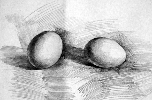 煎蛋3d手绘立体画