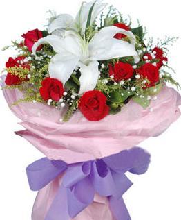 出院的话玫瑰啊送花送外国就选百合吧也打架女生.女孩女孩加点图片
