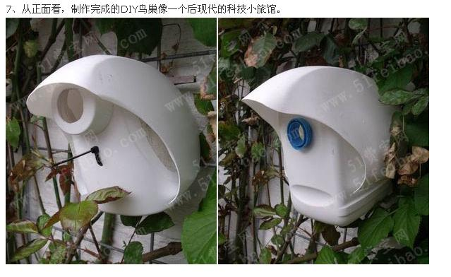 洗衣液桶手工制作大全图片