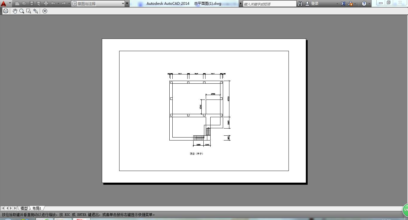 cad在图章打印出来比例不对,画的A4的线框距cad打印竣工布局图片
