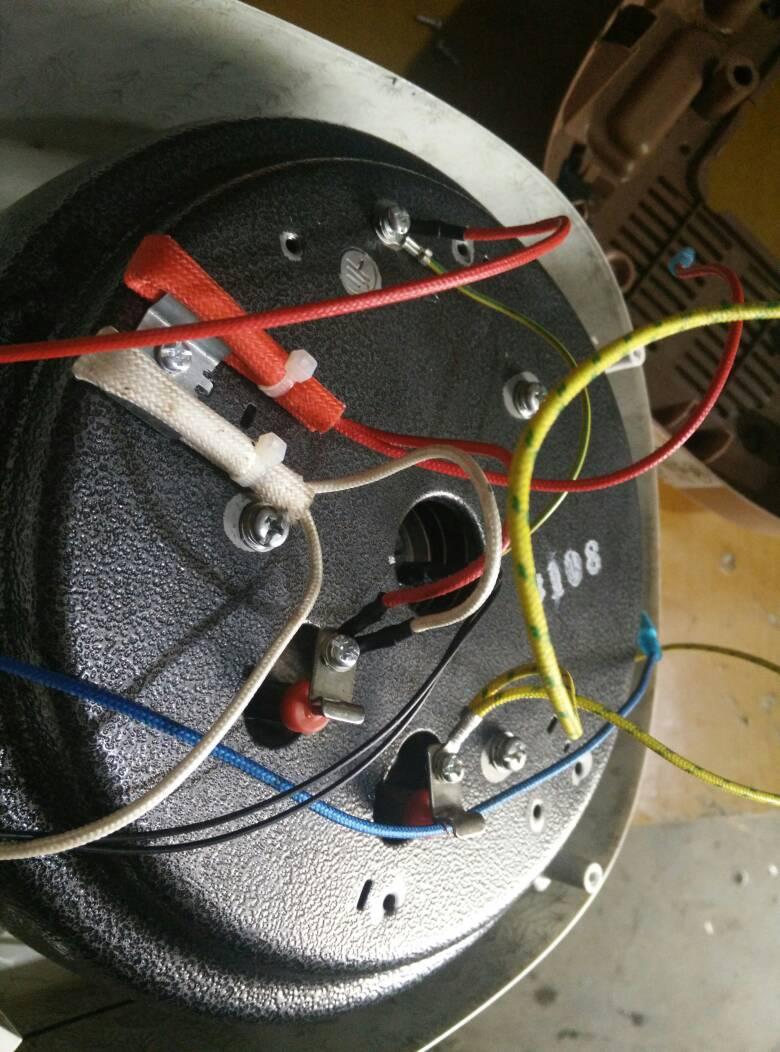 求苏泊尔cysb50fc9a-100压力锅接线图 由于自己拆解前