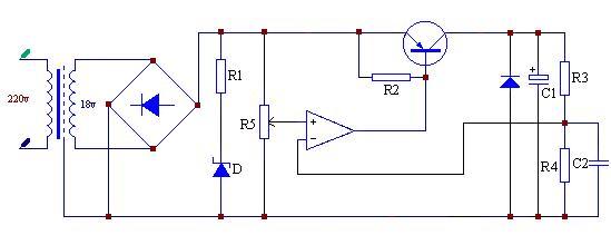 0~5a,0-30v可调双路直流稳压电源电路设计,求高人指点