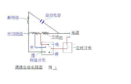 单项双速电机外部接线