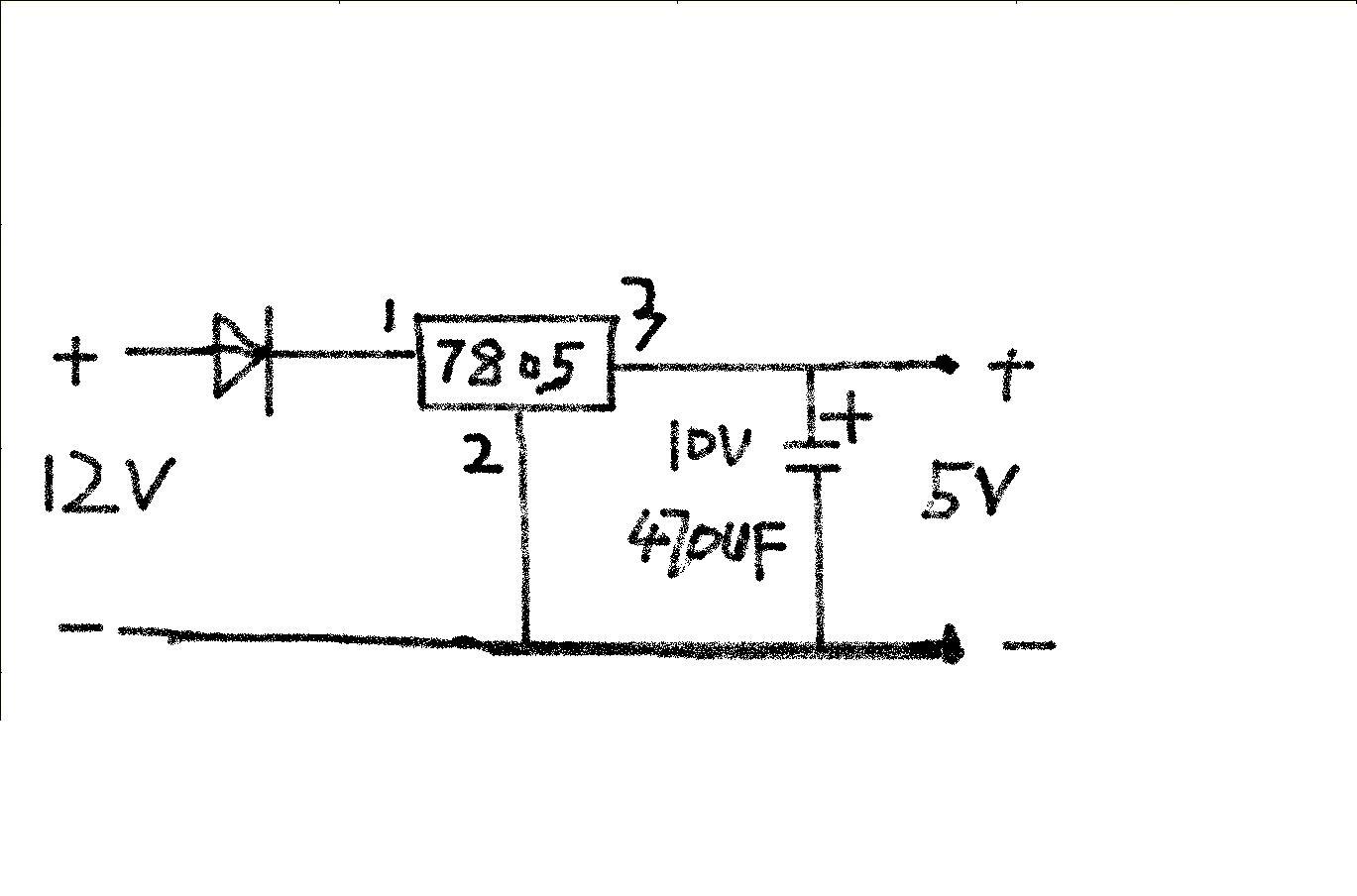 求7805稳压电路图_百度知道