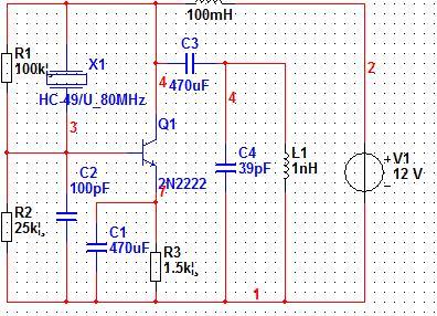 该晶体震荡电路错在哪里