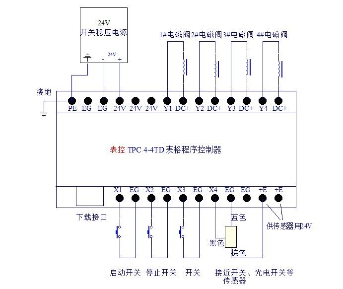 一个npn常闭接近开关 一个继电器或者两个一个脚踏开关怎么控制气缸