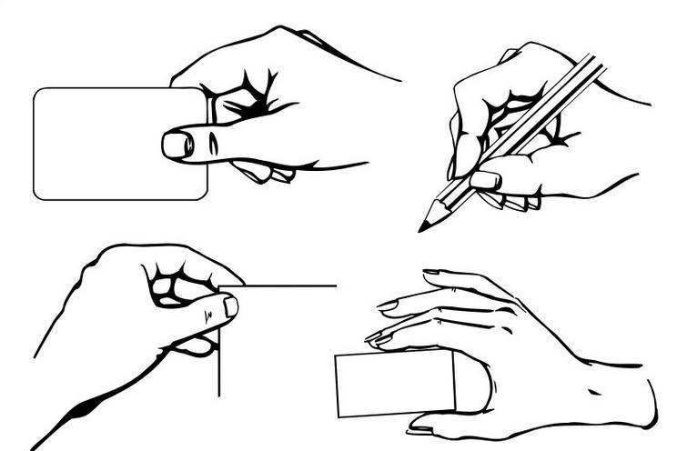 画画时人物手指怎么画