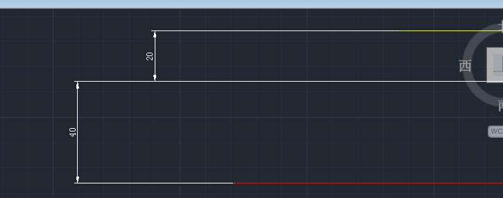 CAD的文件多线的换算预览.偏移.我在开打cad时有就是设置不距离样式图片