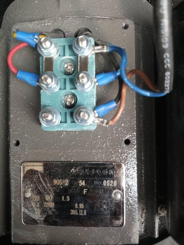 单相电机怎么接线