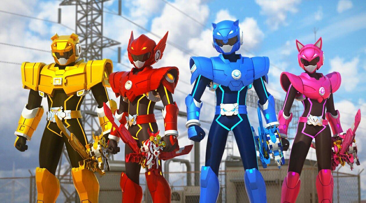 求韩国动画片最强战士迷你特工队的四个队员的名字图片