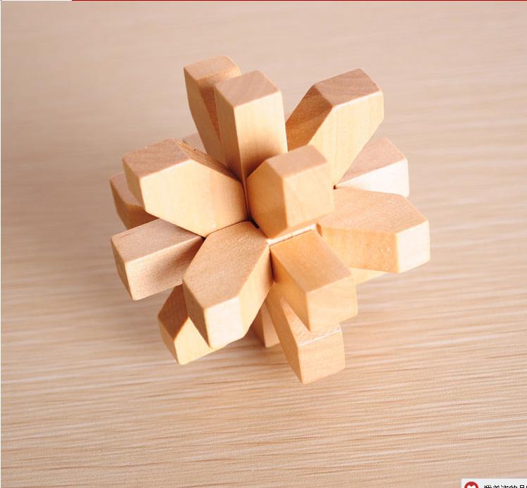 有孔明锁9根的图解吗?