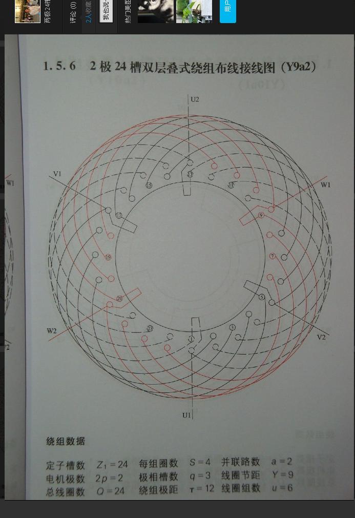 三相交流异步电机,定子是24槽的有几种绕线方法?