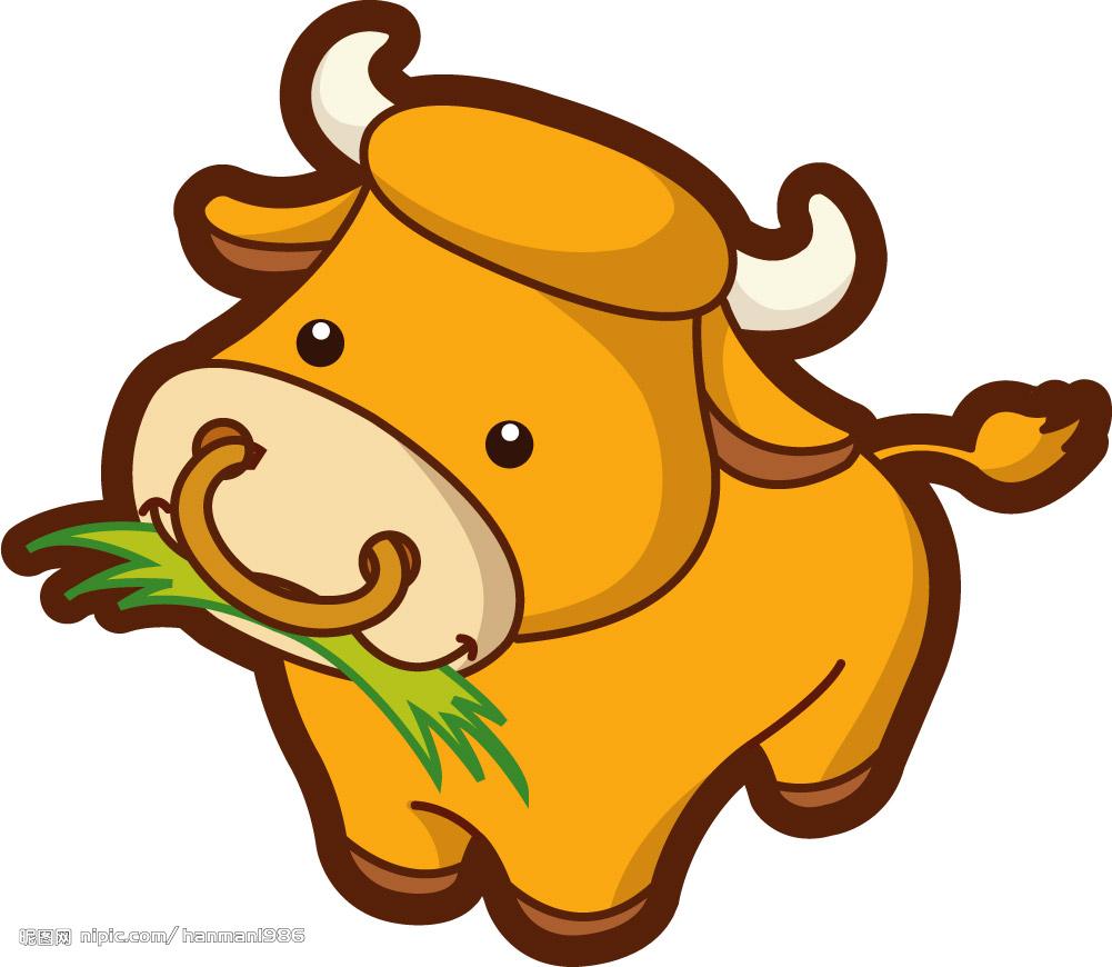 谁帮忙找个卡通点的,可爱点的,小牛牛图片呗,我要做头像图片