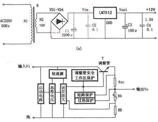 课程设计要设计一个固定直流稳压电源,输出12v 1a.