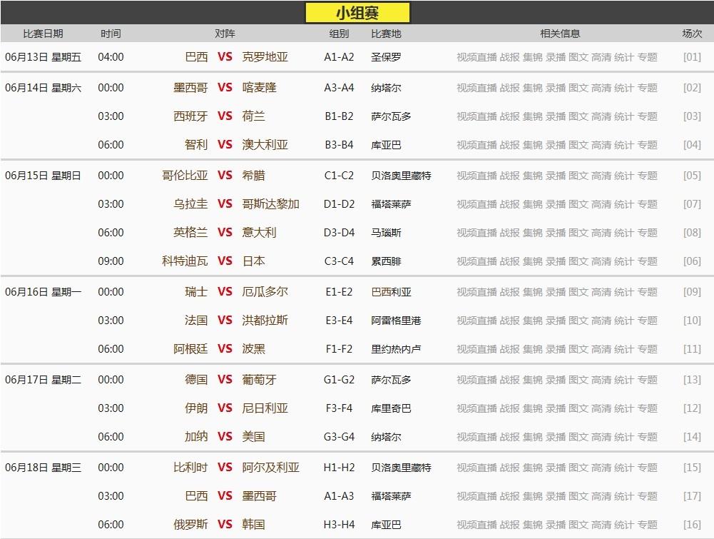 wp8.1推送时间表_2014世界杯时间表