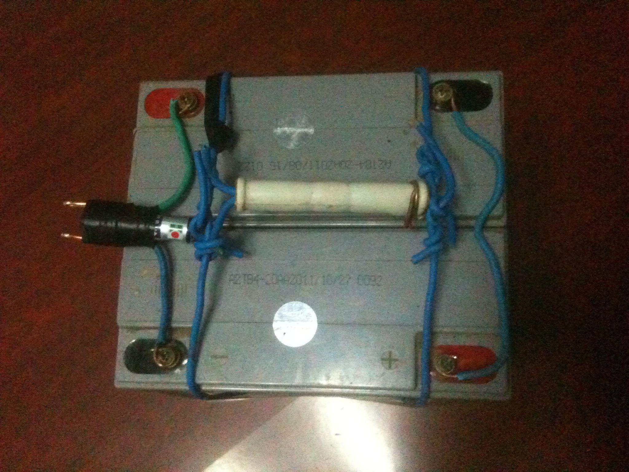 蓄电池并联和串联