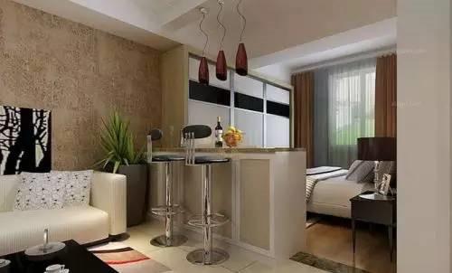 客厅改卧室设计 卧室不够用怎么办图片