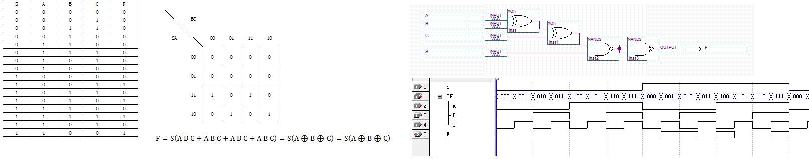 数字电子技术试验--设计路灯控制电路