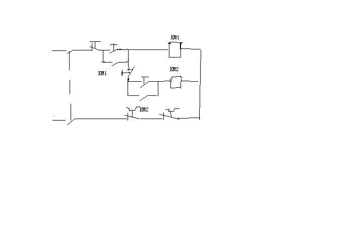 设计两台电动机顺序启停的主电路和控制电路,要求用继电器接触器进行