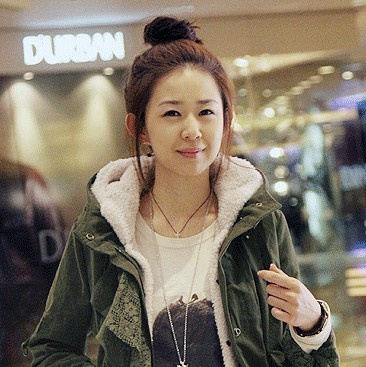 淘宝上这个韩国女模特是谁,有图