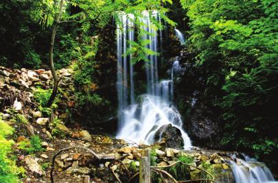 金银峡生态旅游风景区总面积8003公顷,由鸭绿江及三条