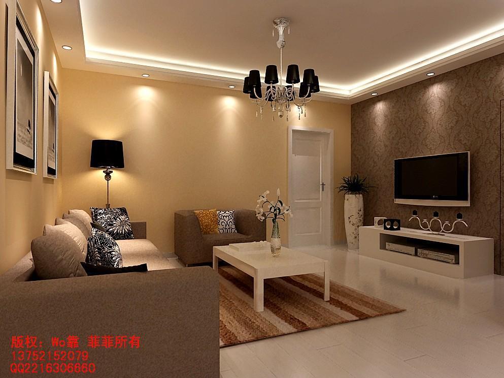 求客厅 卧室 地板砖和墙漆颜色搭配图片