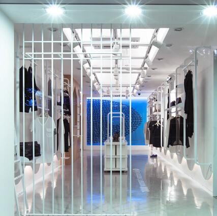 求28平方服装店设计图 店面是