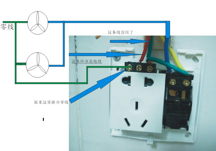 一开五孔插座怎么接线