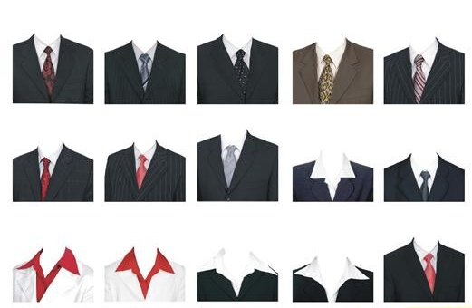 急求ps正装一寸照(要求黑色西服 白色衬衣加领带,在线