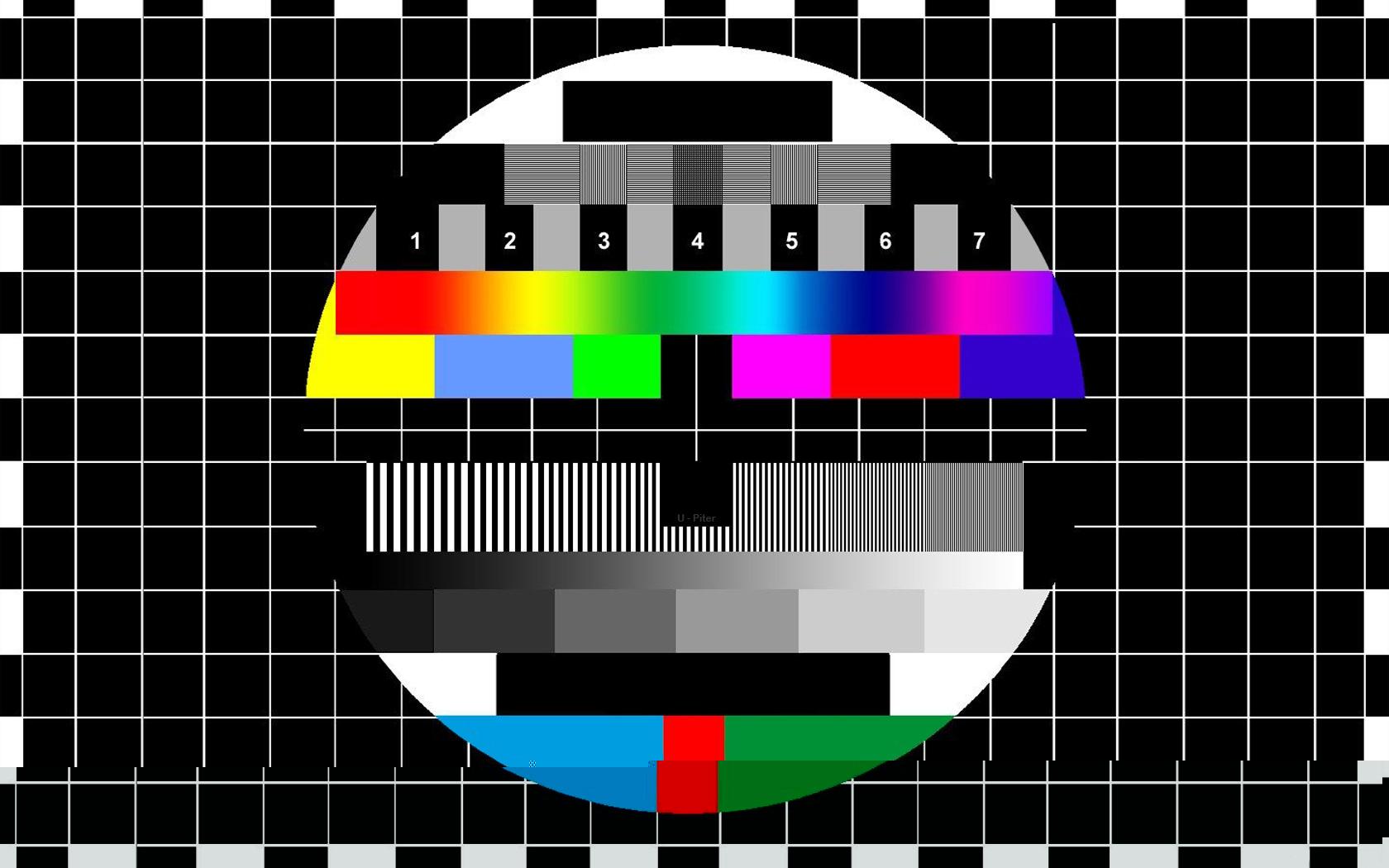 午夜过后,电视节目放完后屏幕出现的这个图片是什么?