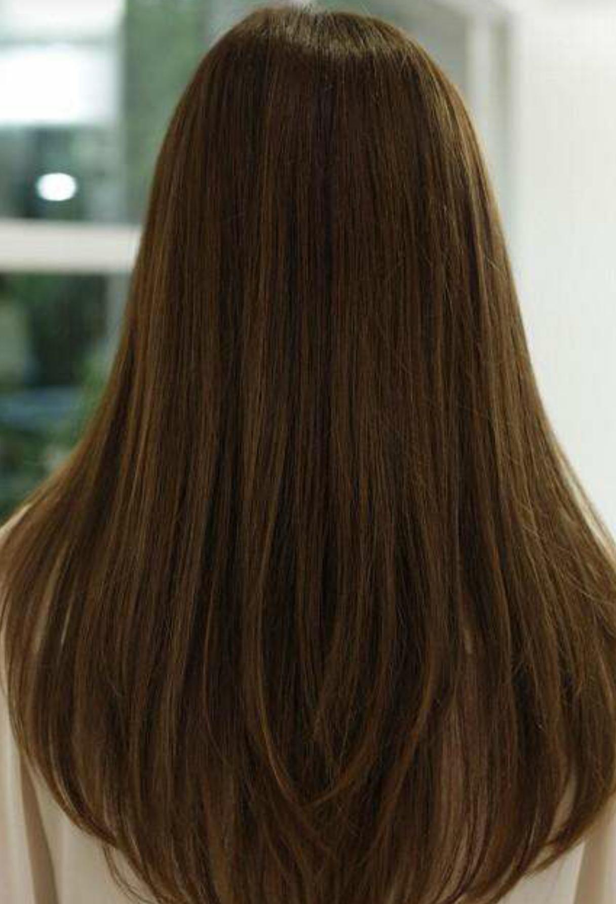 以头发为例: 咖啡色 栗棕色 皮肤颜色不同适合的衣服颜色也不一样.