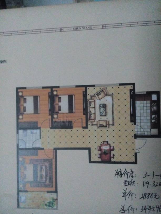 帮忙看一下这个房子的户型,风水怎么样.坐南朝北,二楼