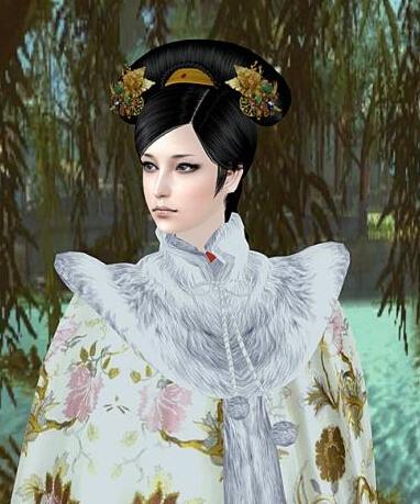求模拟人生2和模拟人生4清朝的情趣和头发,男女都要衣服衣服穿的popo图片