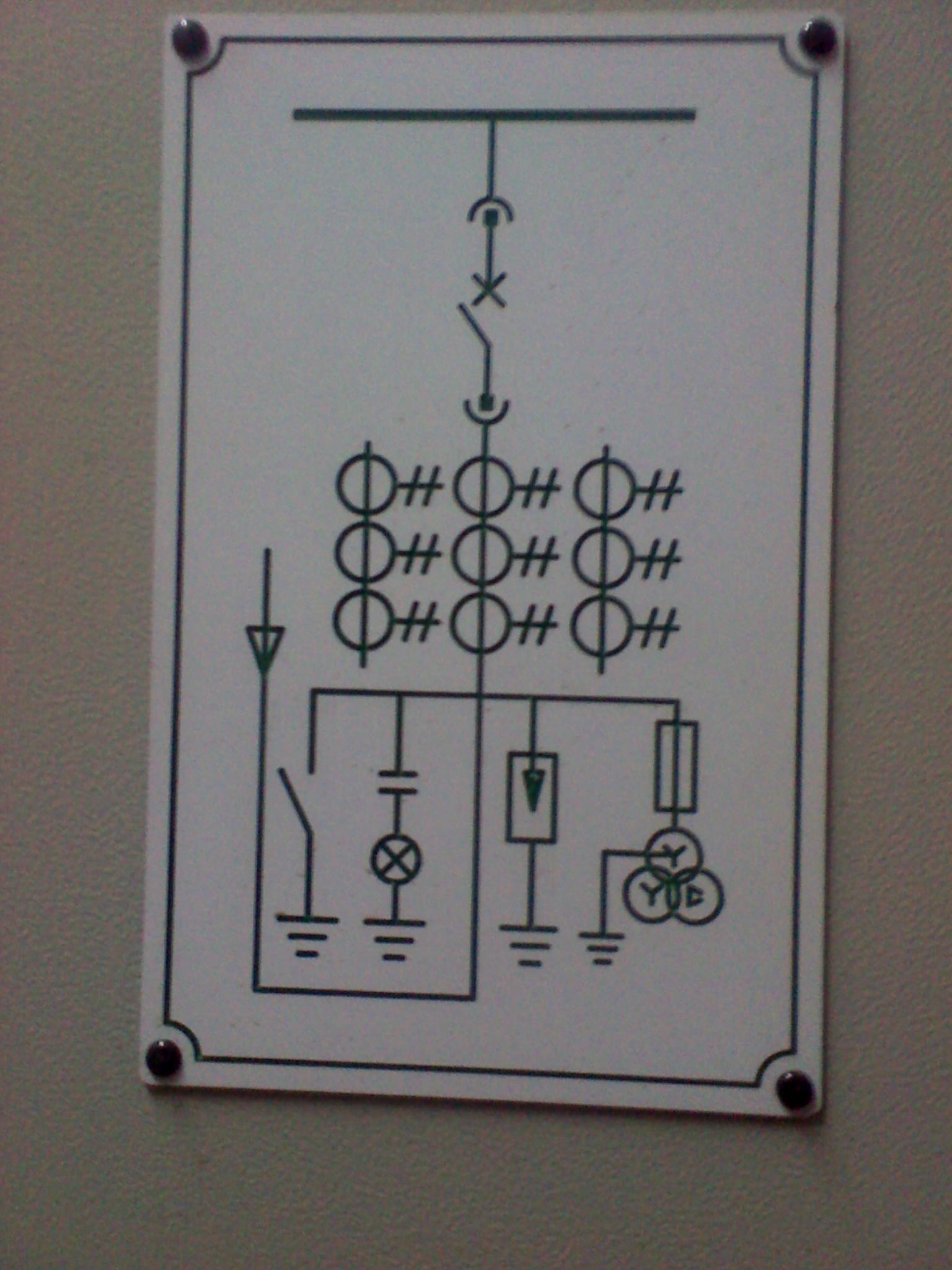 请问下这个电路图是什么意思?说的详细点,每个符号都是什么意思?谢谢!