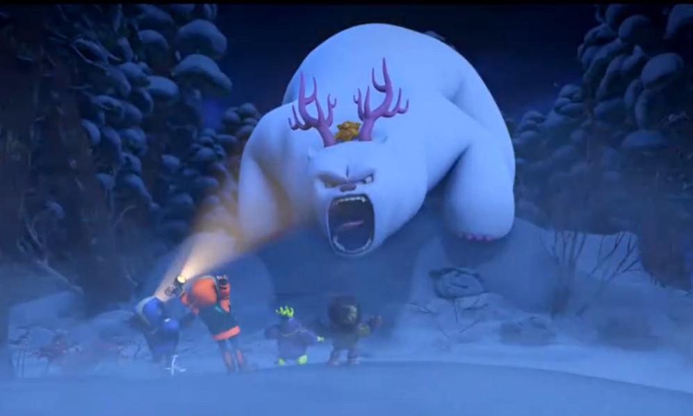 熊出没之雪岭熊风中团子的照片
