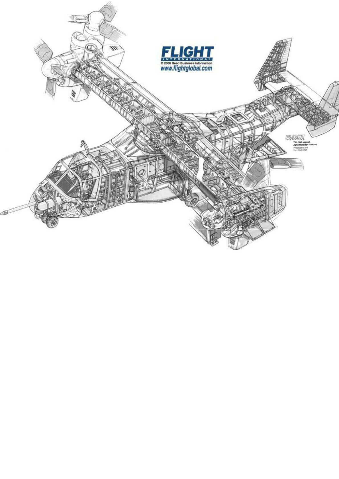 谁有全面的直升机结构图